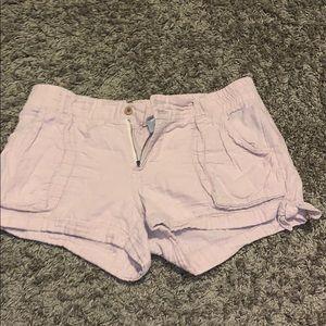 pale pink shorts